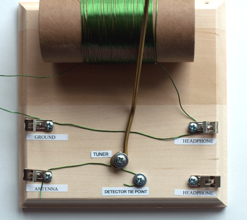 Figure 11: crystal radio detector wire