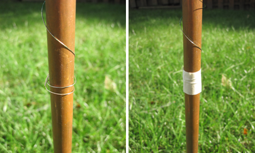 Figure 15: crystal radio ground rod