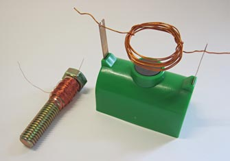 electromagnet and toy motor