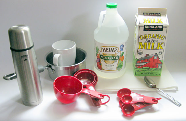 Classroom Activity Turn Milk into Plastic You need only a few simple household materials