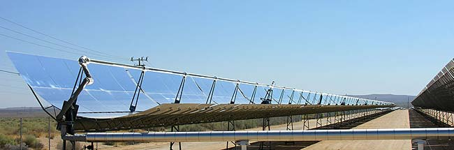 Parabolic solar reflector