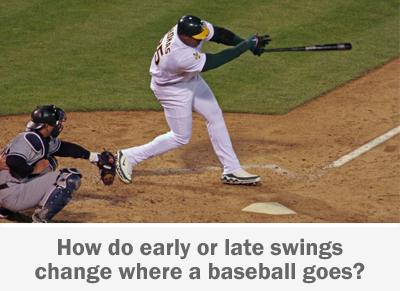 Frank Thomas  swings at a baseball