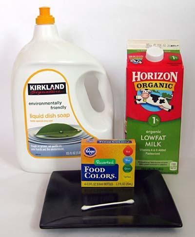 Home Science Activity: Make a Milk Rainbow