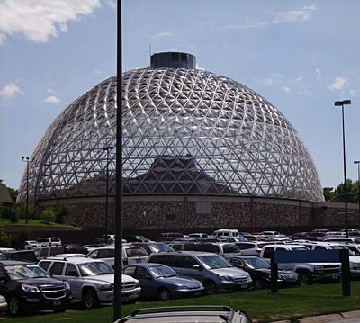 A picture of the Desert Dome at Henry Doorly Zoo