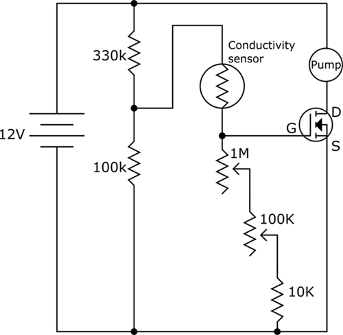 circuit diagram for insulin pump