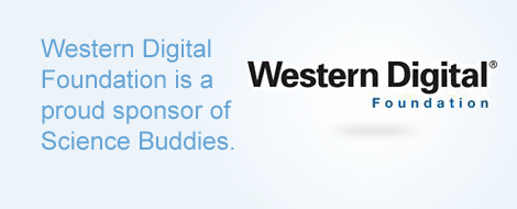 Sponsor box for Western Digital