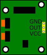 PIR sensor breadboard symbol