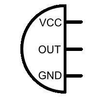 PIR sensor circuit diagram symbol