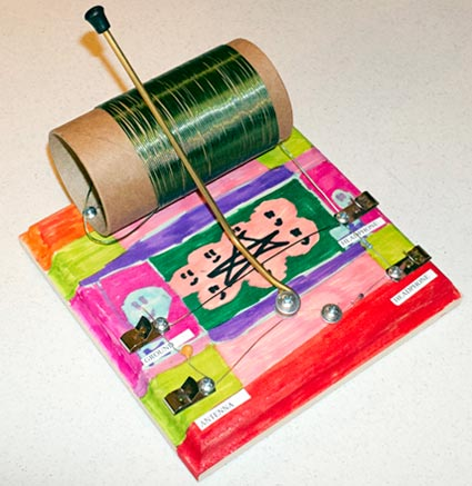 Decorated crystal radio