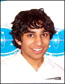Photo of Vinnie Ramesh a semifinalist in the 2008 Intel Science Talent Search
