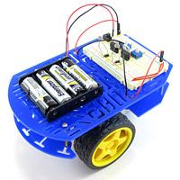 landing page light robot