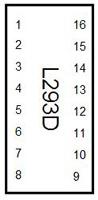Circuit diagram symbol for an L293D H bridge