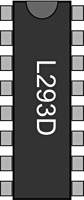 H bridge breadboard symbol