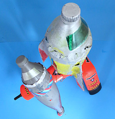 aquapod bottle rocket