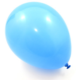 an inflated balloon stores potential energy