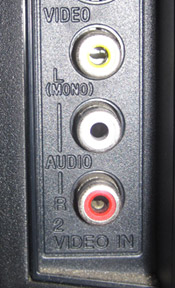 component RCA ports