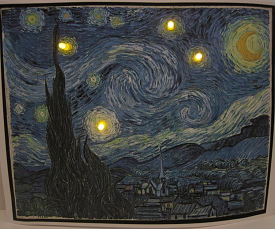 raspberry pi starry night on