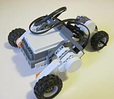 all terrain NXT robot left step 6