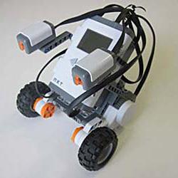 lego nxt light following robot