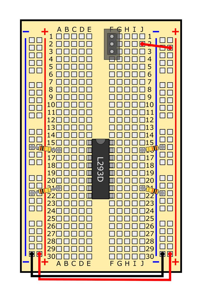 slideshow 9 obstacle avoiding robot circuit
