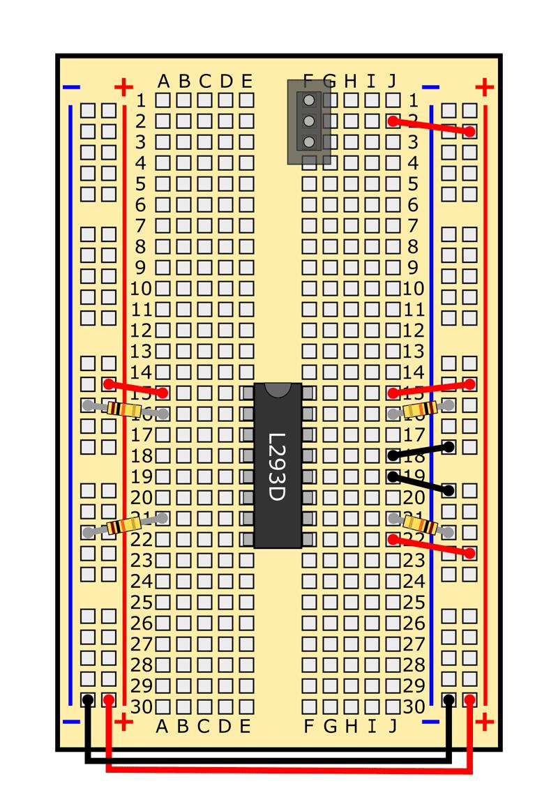 slideshow 14 obstacle avoiding robot circuit