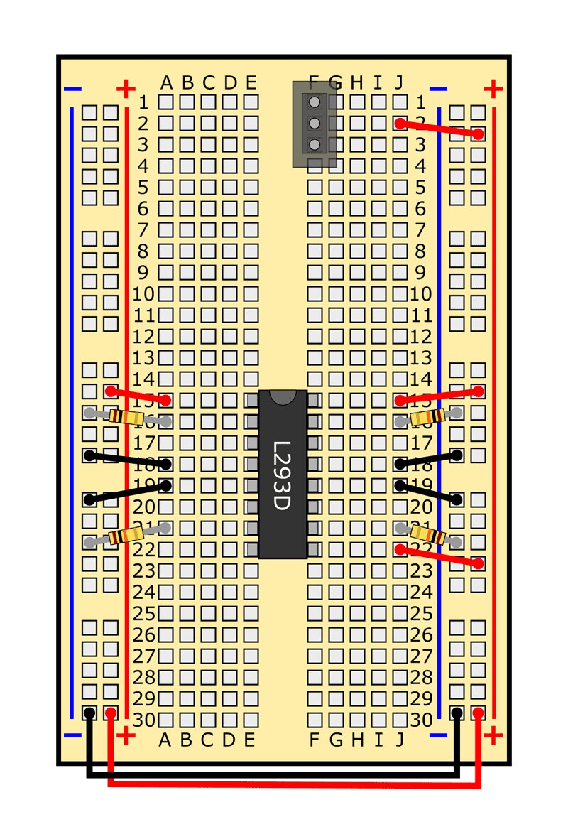 slideshow 16 obstacle avoiding robot circuit
