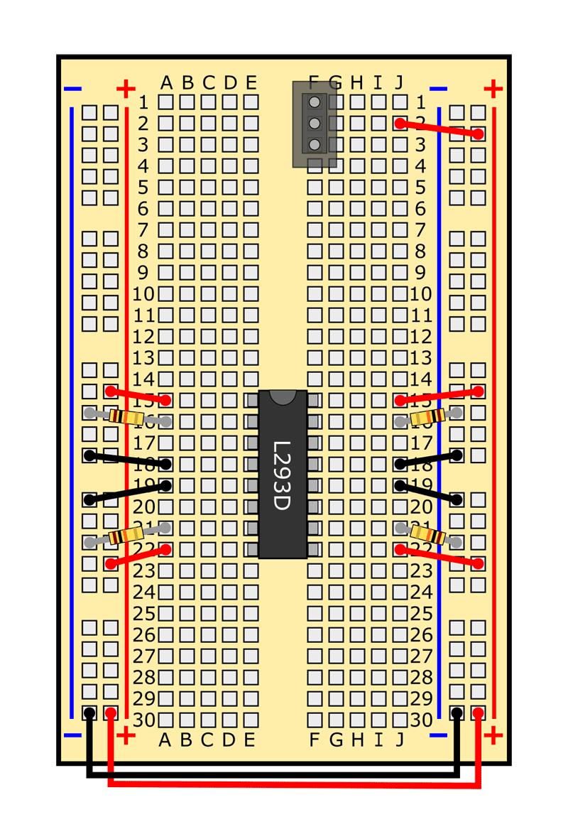 slideshow 17 obstacle avoiding robot circuit
