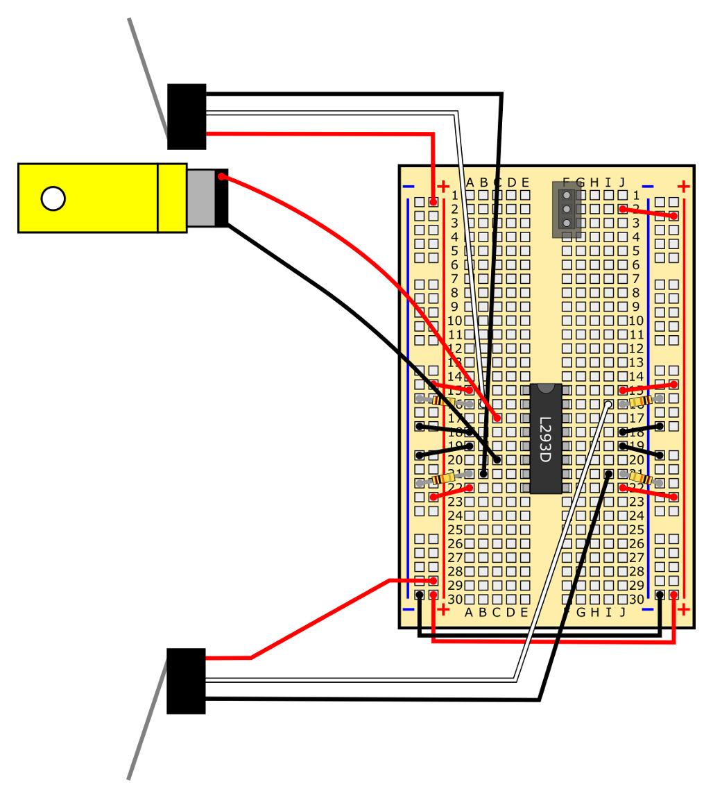 slideshow  20 obstacle avoiding robot circuit