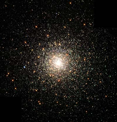 Picture of the M80 globular cluster taken by the Hubble Space Telescope