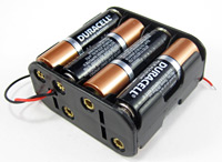 8xAA battery pack
