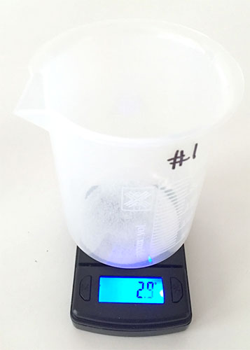 slideshow 8 sample weigh salt