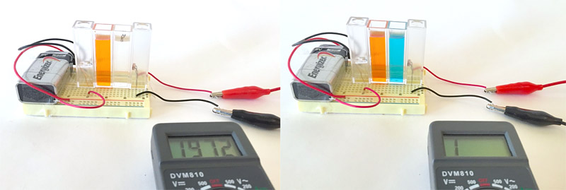 measuring setup colorimeter