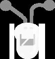 breadboard LED symbol