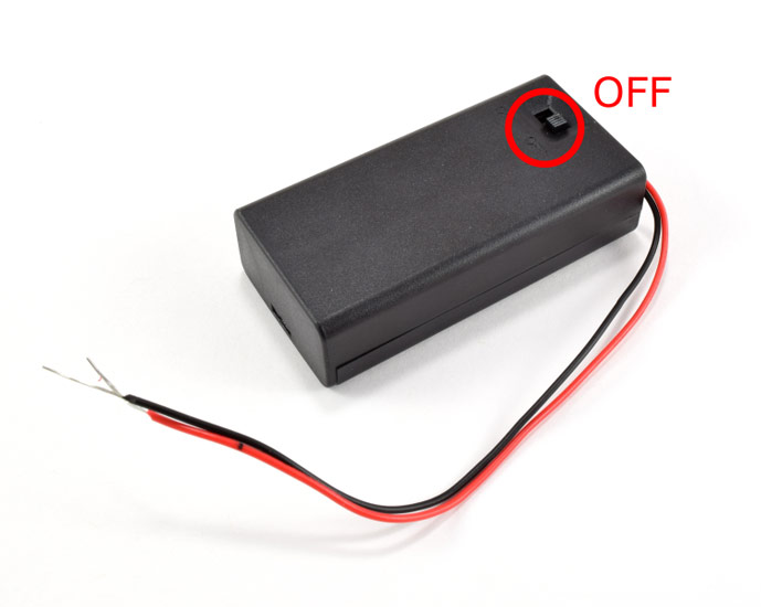 Battery switch off