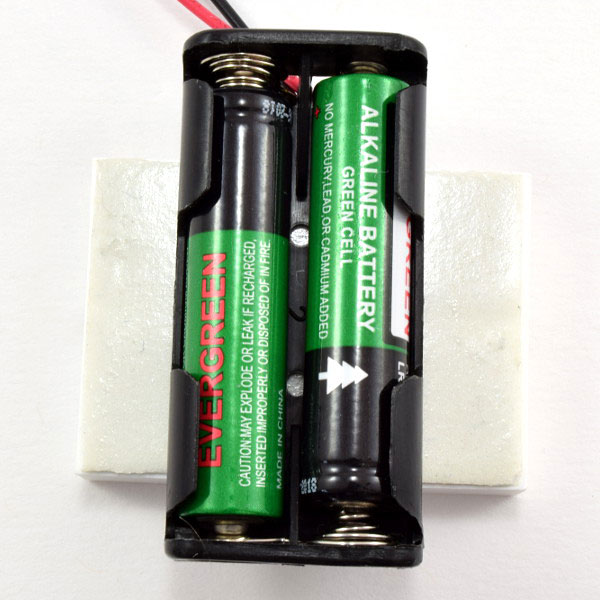 AAA batteries in battery holder