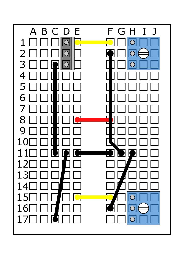 MOSFET into D1, D2, D3