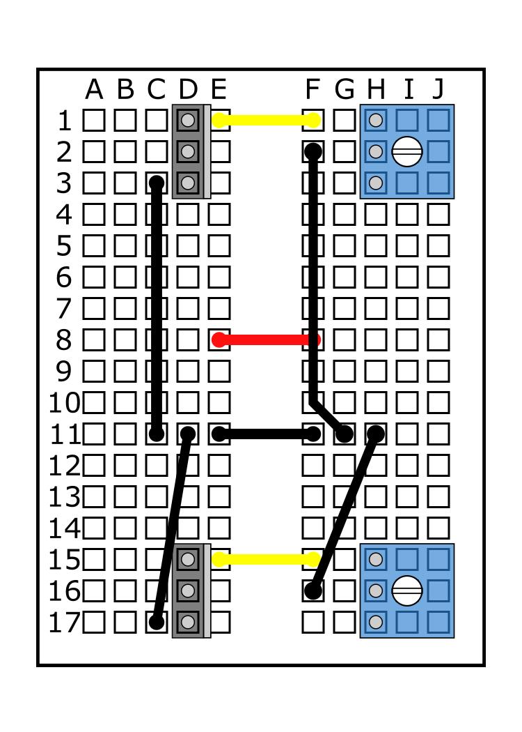 MOSFET into D15, D16, D17