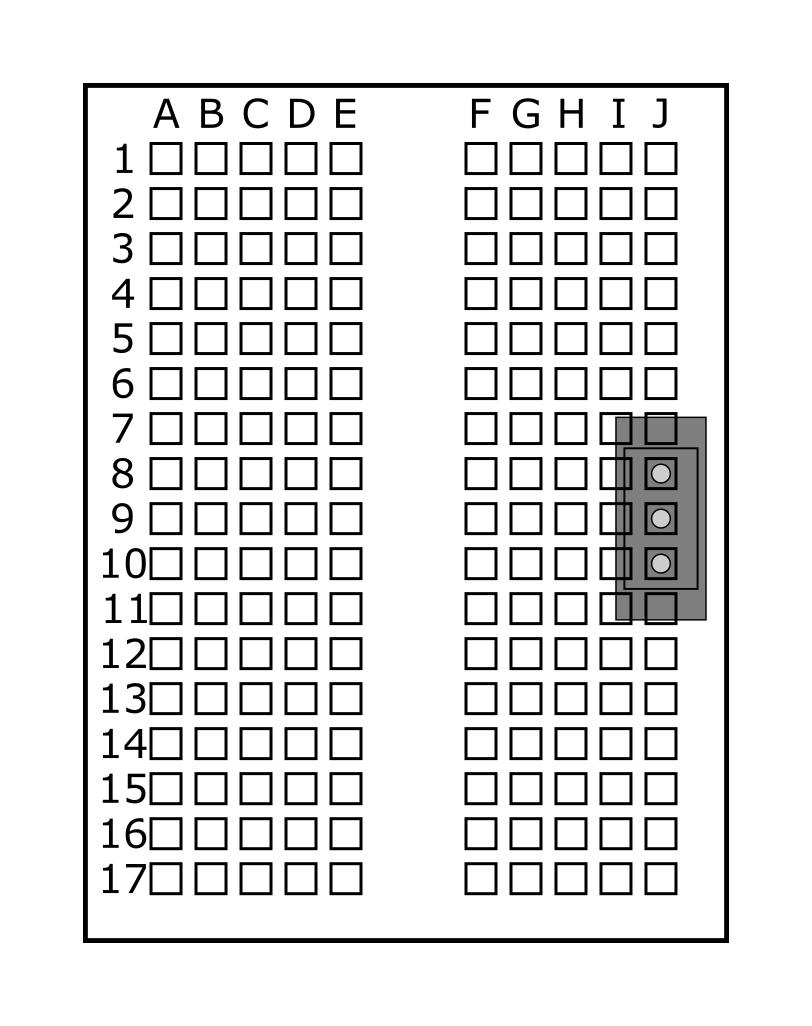 Power switch in J8, J9, J10