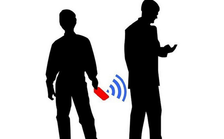 RFID readers can be used to steal a person's identity.