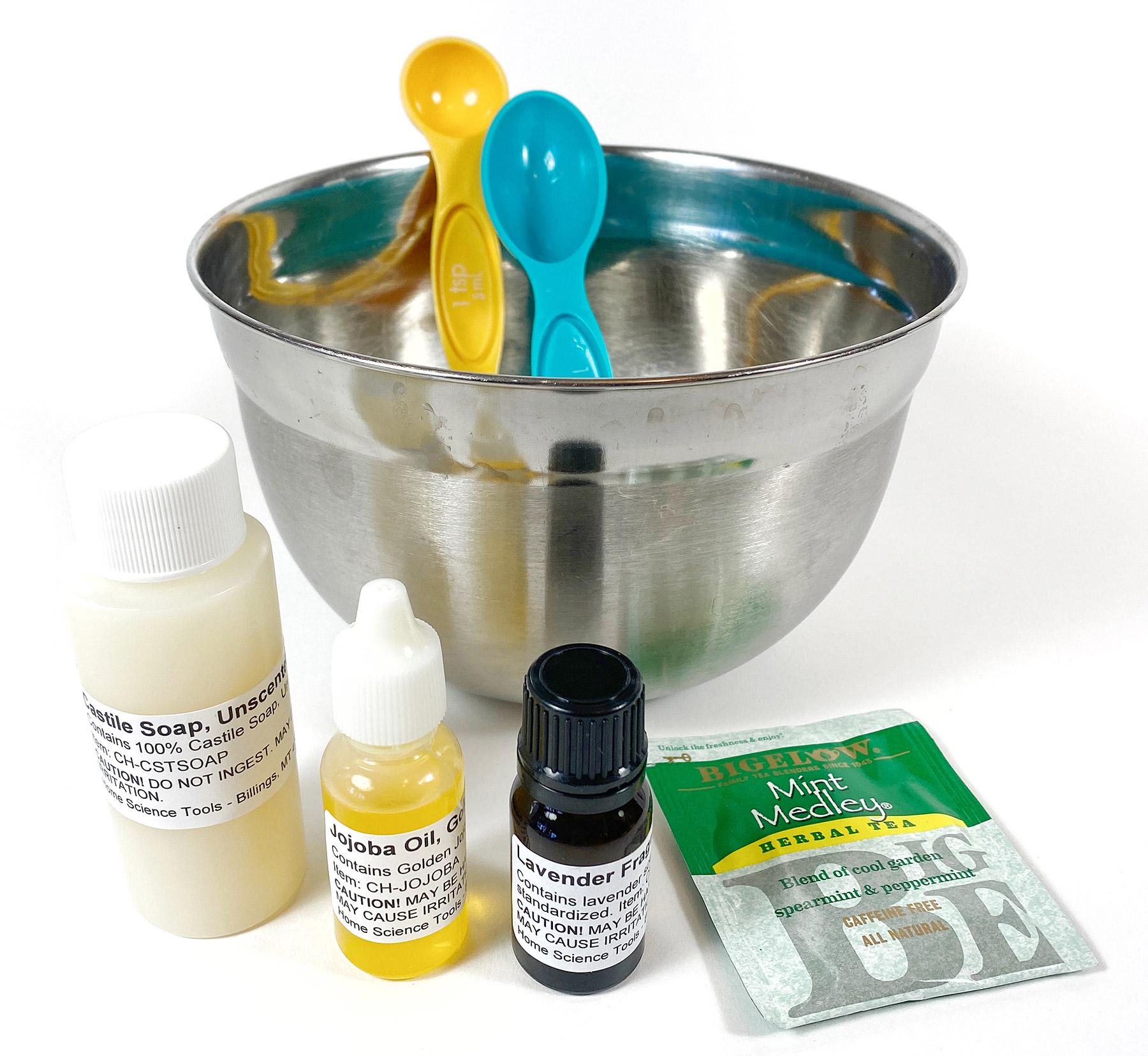 Castile soap herbal shampoo ingredients