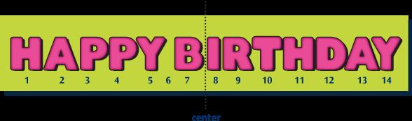 ArtSkills design tips  happy birthday