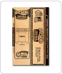 ArtSkills supplies trifold