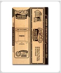 ArtSkills supplies trifold