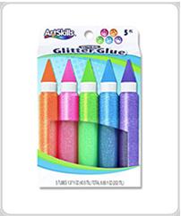 artskills supplies neon glitter glue