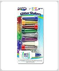 artskills supplies glitter shakers with glue