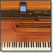 google science journal piano sing music