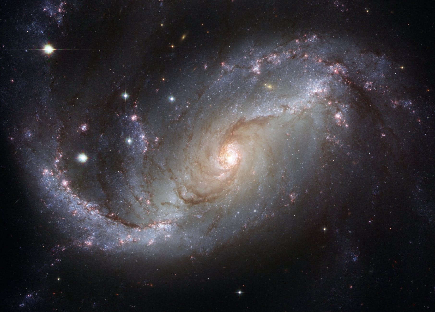 NASA picture of a galaxy