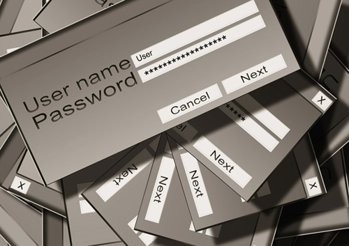 password login boxes