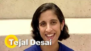 video interview with biomedical engineer Tejal Desai