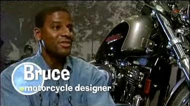 Bruce Roberts motorcycle engineer.